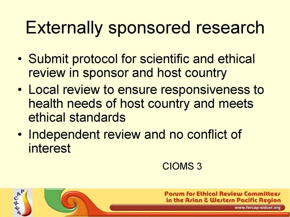 examples of ethical issues in research